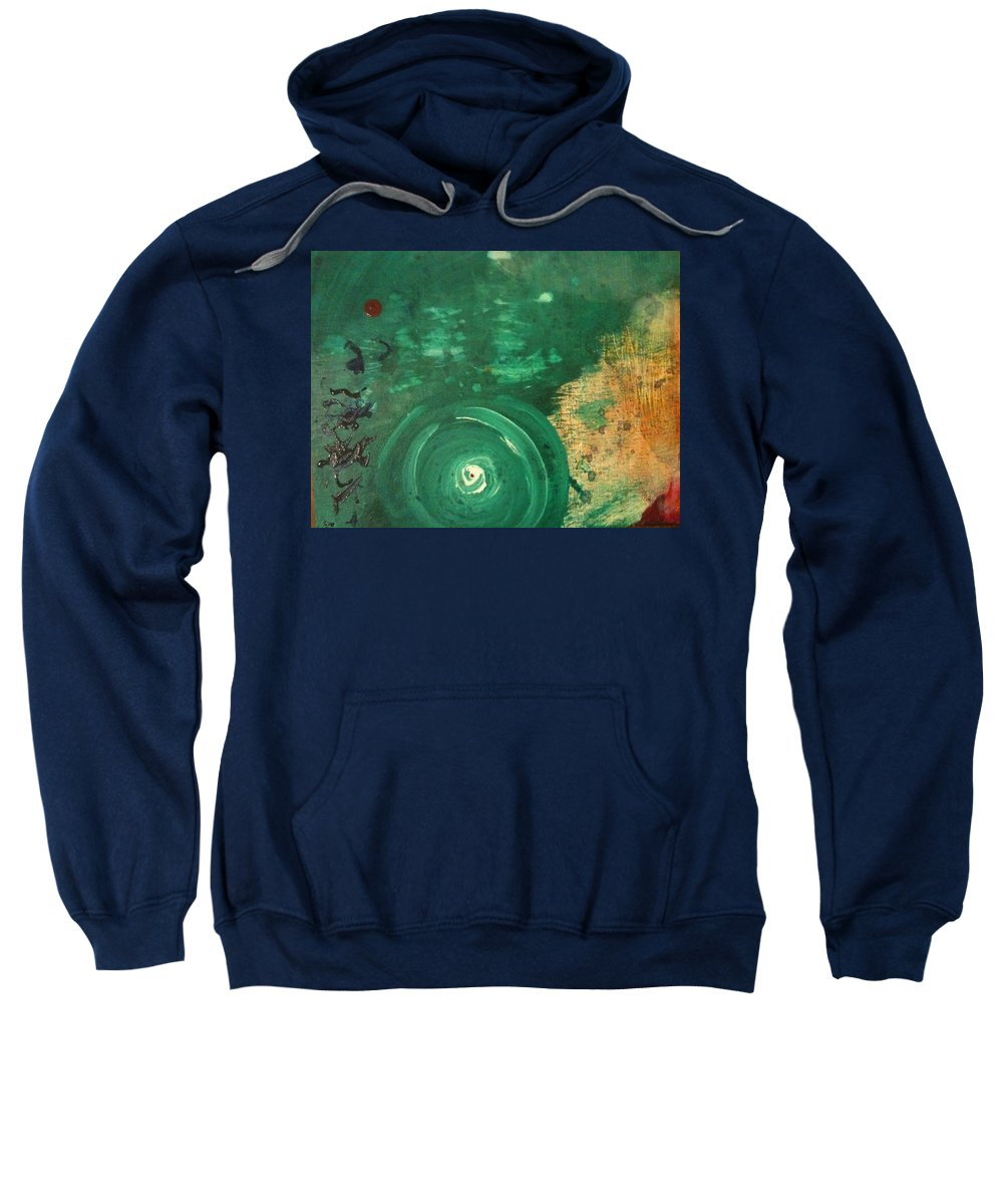 Ascension Sweatshirt featuring the painting Ascension by Dawn Richerson