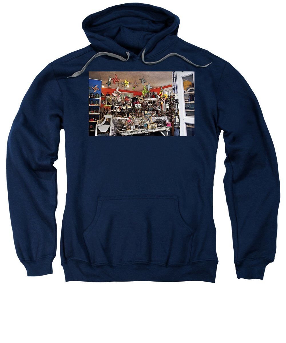 Candy Sweatshirt featuring the photograph Candy Land Dreams by Madeline Ellis