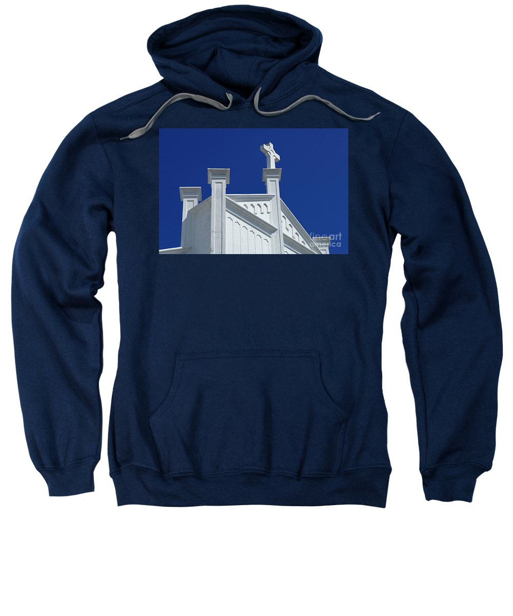 Church Sweatshirt featuring the photograph Church Key West Florida by Bob Christopher