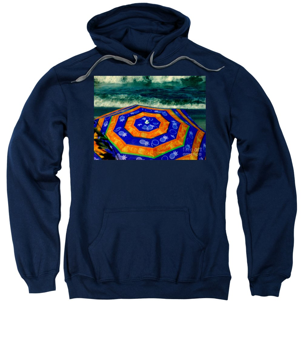 Ocean Sweatshirt featuring the photograph Close To The Ocean by Susanne Van Hulst