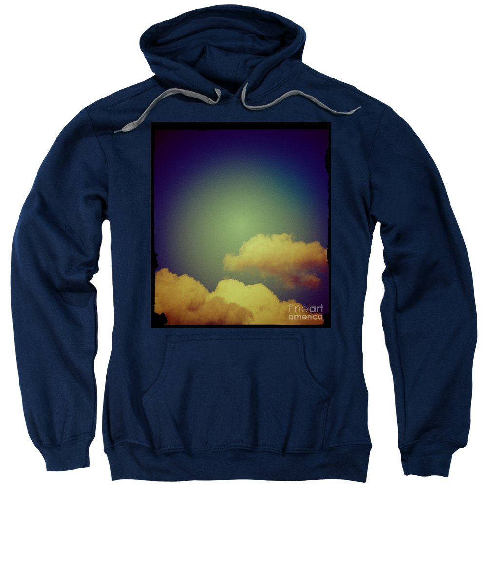 Clouds Sweatshirt featuring the photograph Clouds by Silvia Ganora