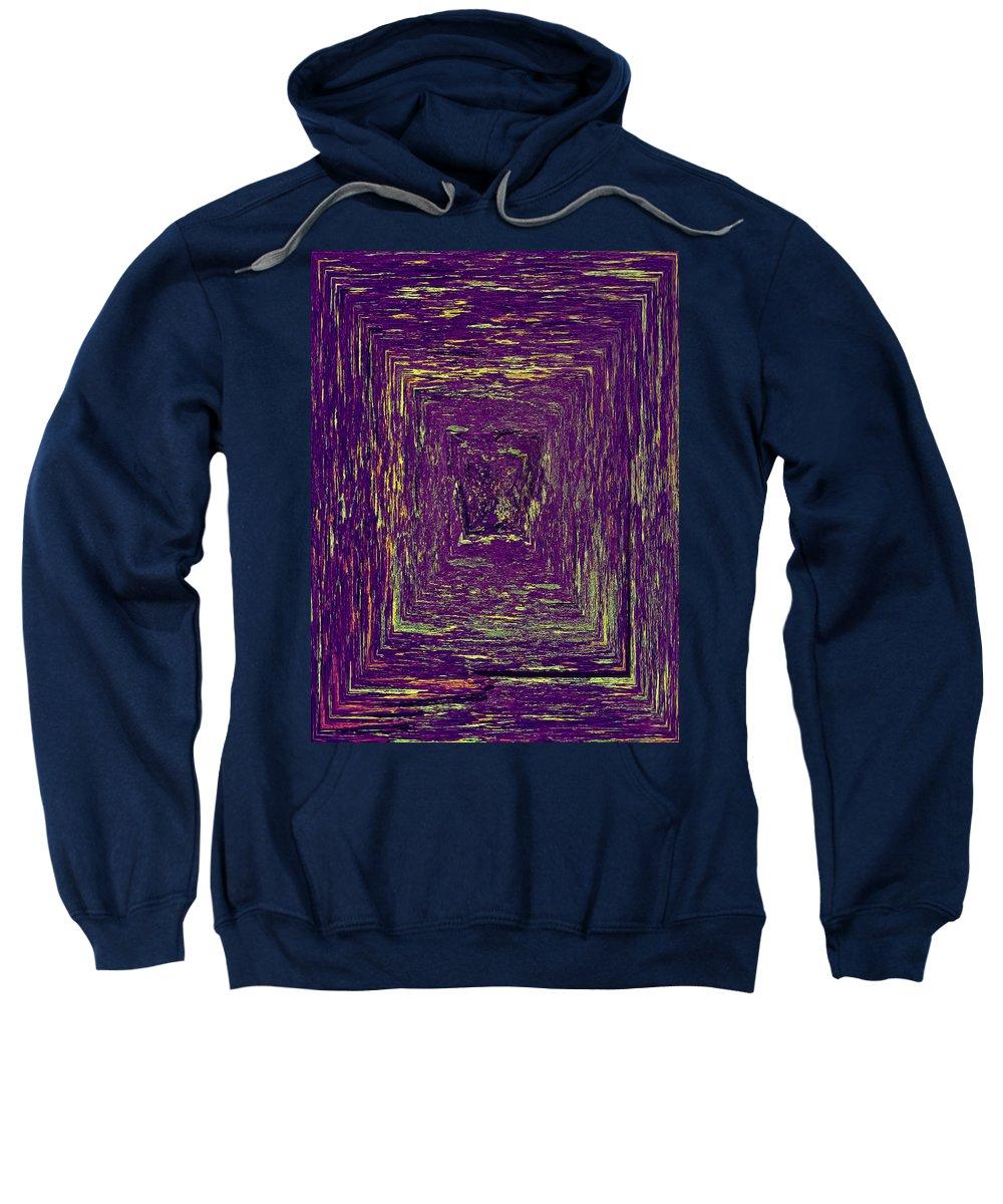 2012 Sweatshirt featuring the photograph Coloristic Abstracts From Varikallio At Hossa by Jouko Lehto