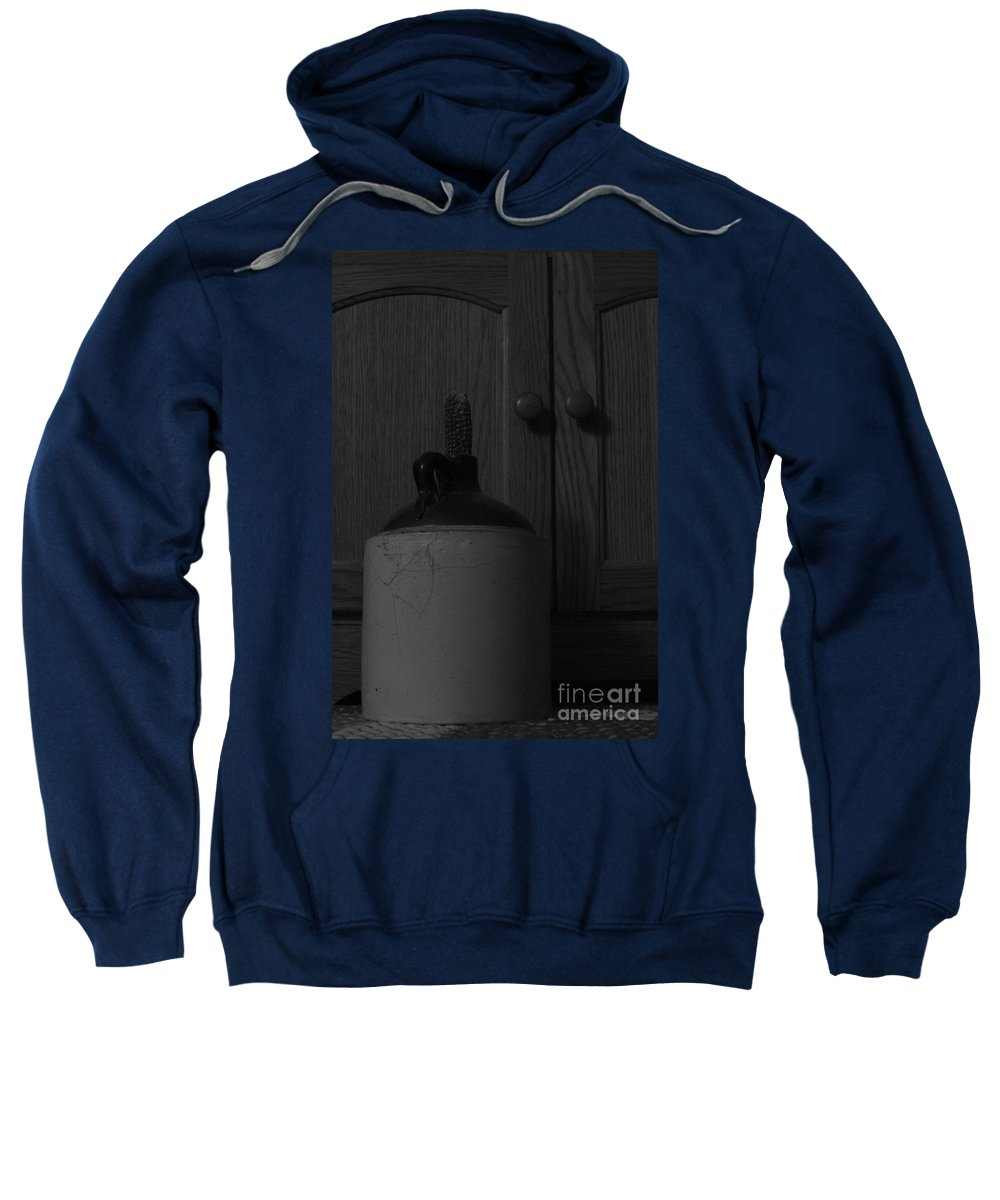 Antique Sweatshirt featuring the photograph Corked White Lightning 3 by Alan Look
