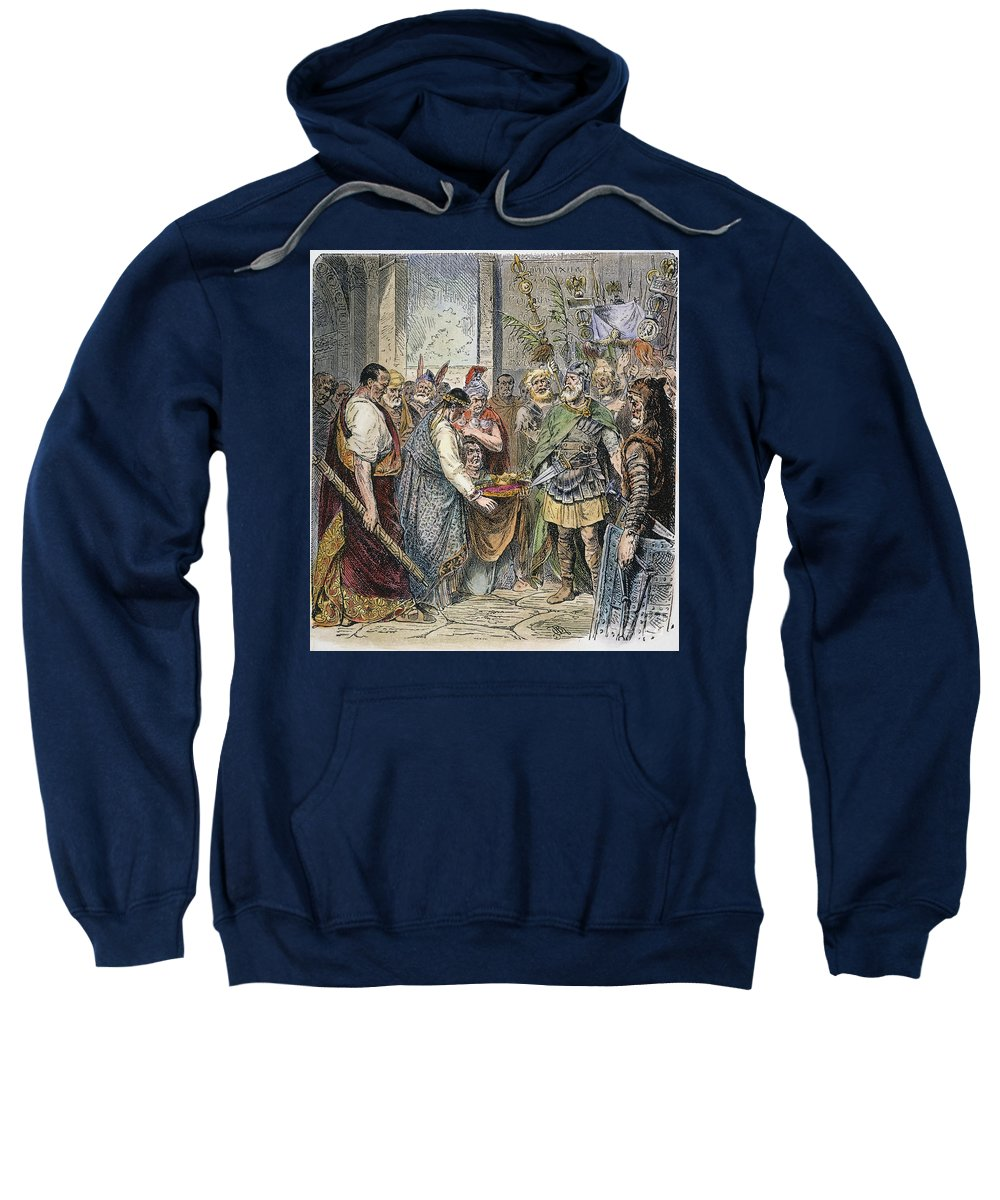 5th Century Sweatshirt featuring the photograph End Of Roman Empire by Granger