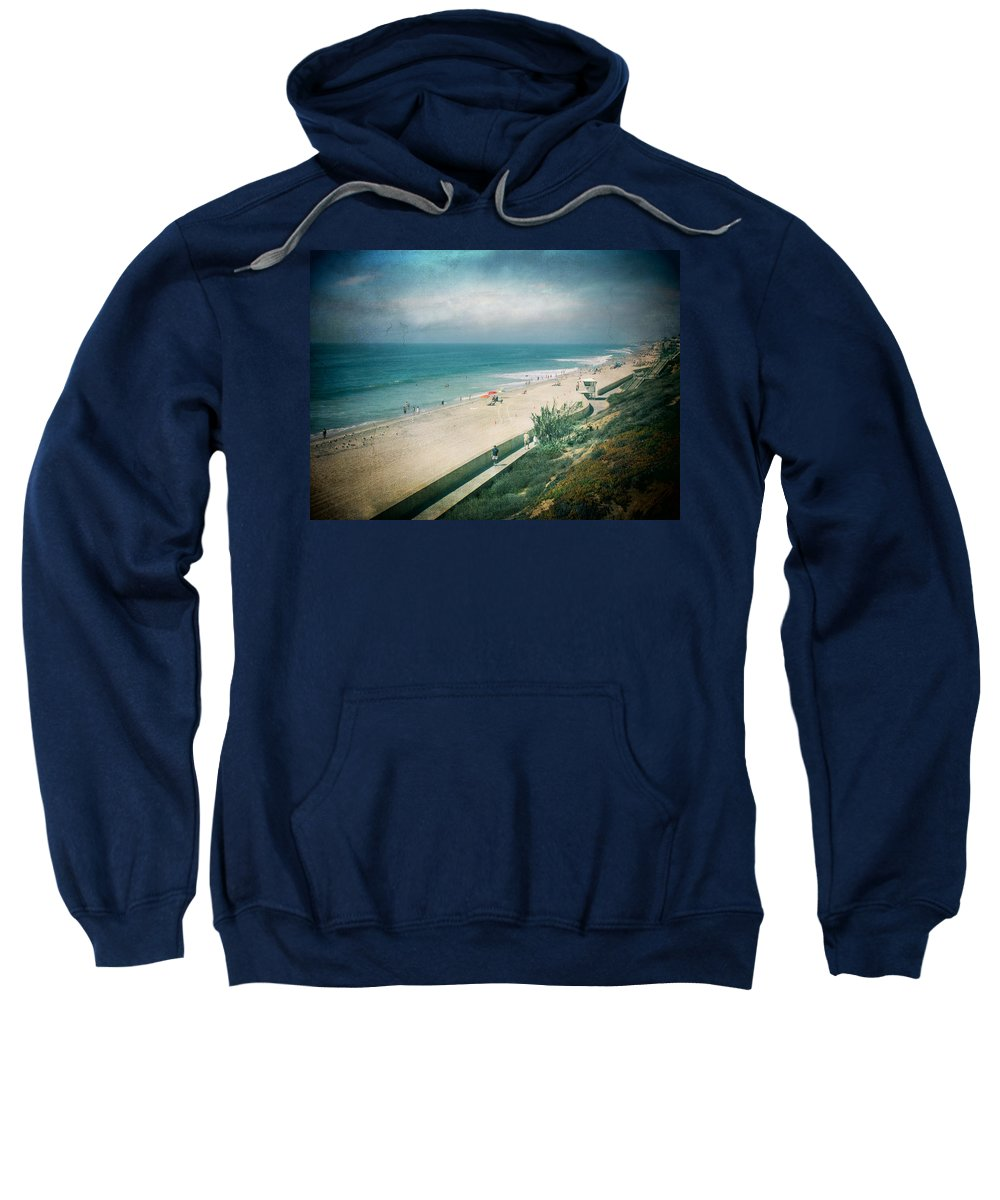 Carlsbad Sweatshirt featuring the photograph Escape For A Day by Laurie Search