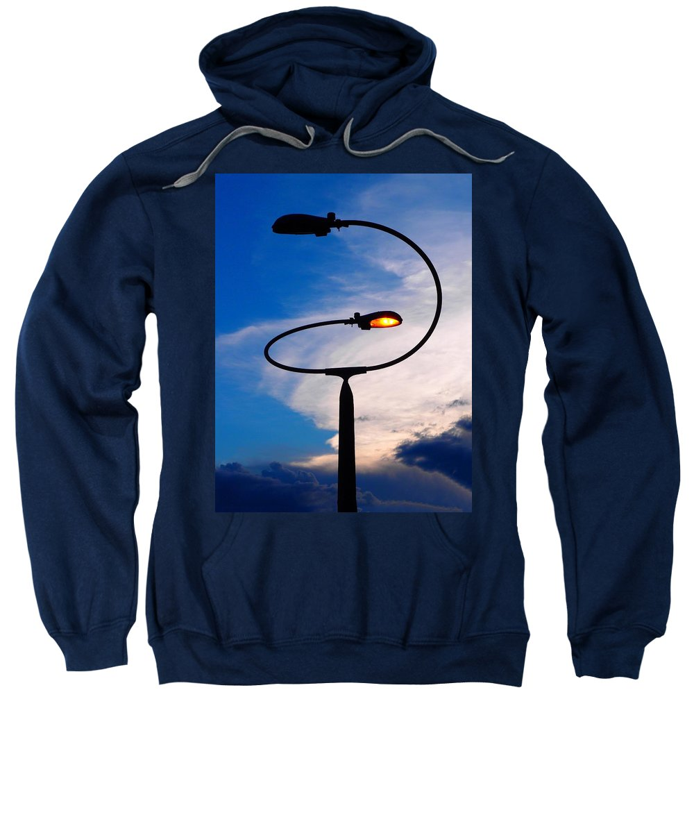 Extraterrestrial Sweatshirt featuring the photograph Extraterrestrial by Skip Hunt