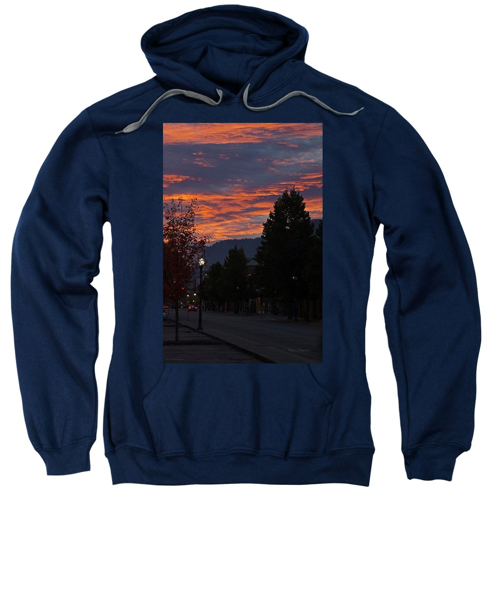 G Street Sweatshirt featuring the photograph Gorgeous Sunrise On G Street by Mick Anderson