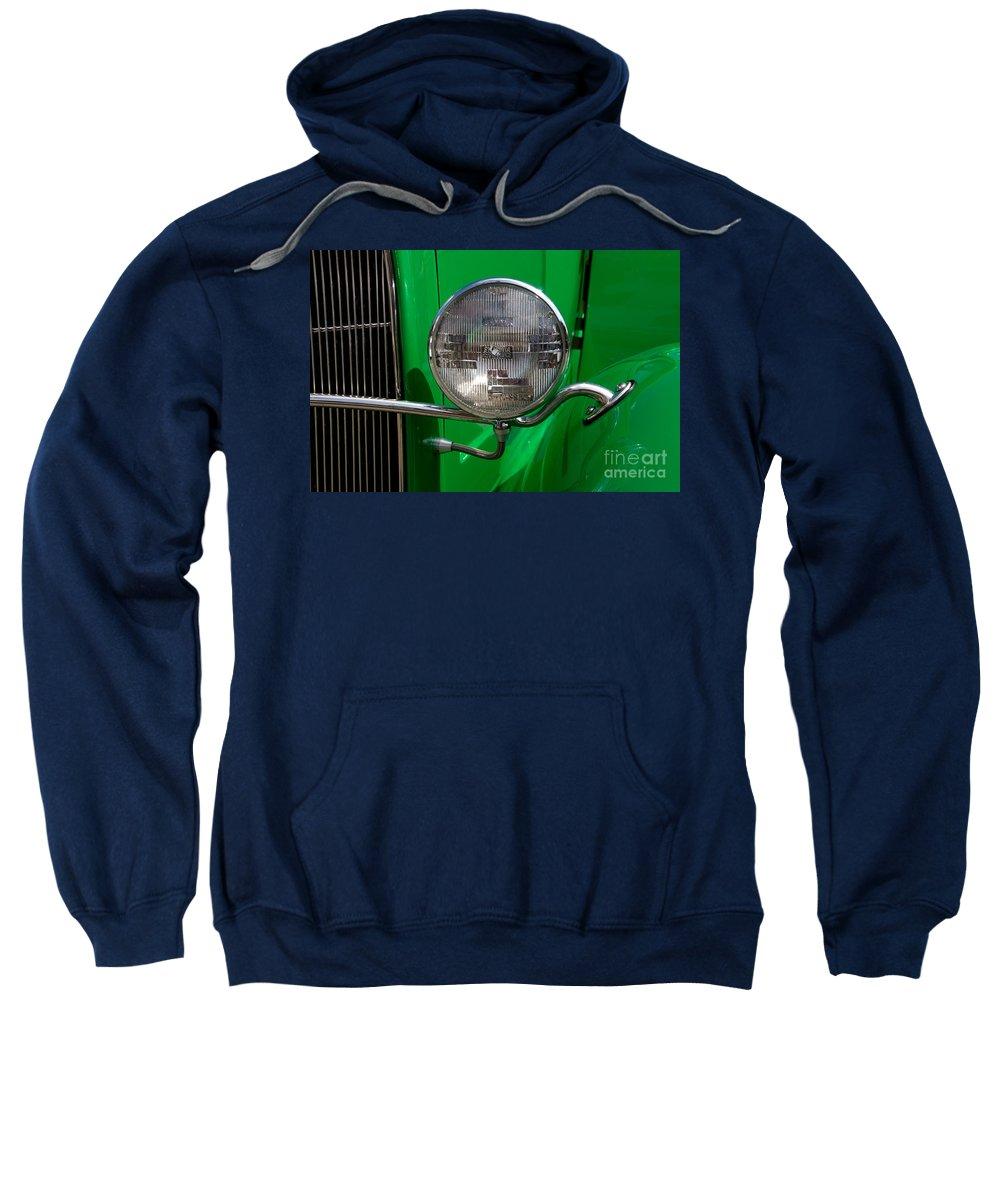 Headlight Sweatshirt featuring the photograph Headlight by Vivian Christopher