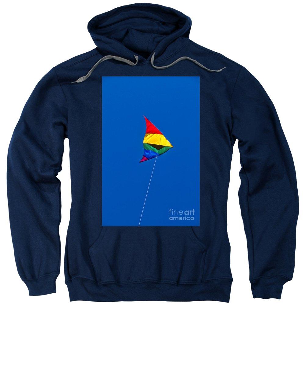 Kite Sweatshirt featuring the photograph Kite by John Greim