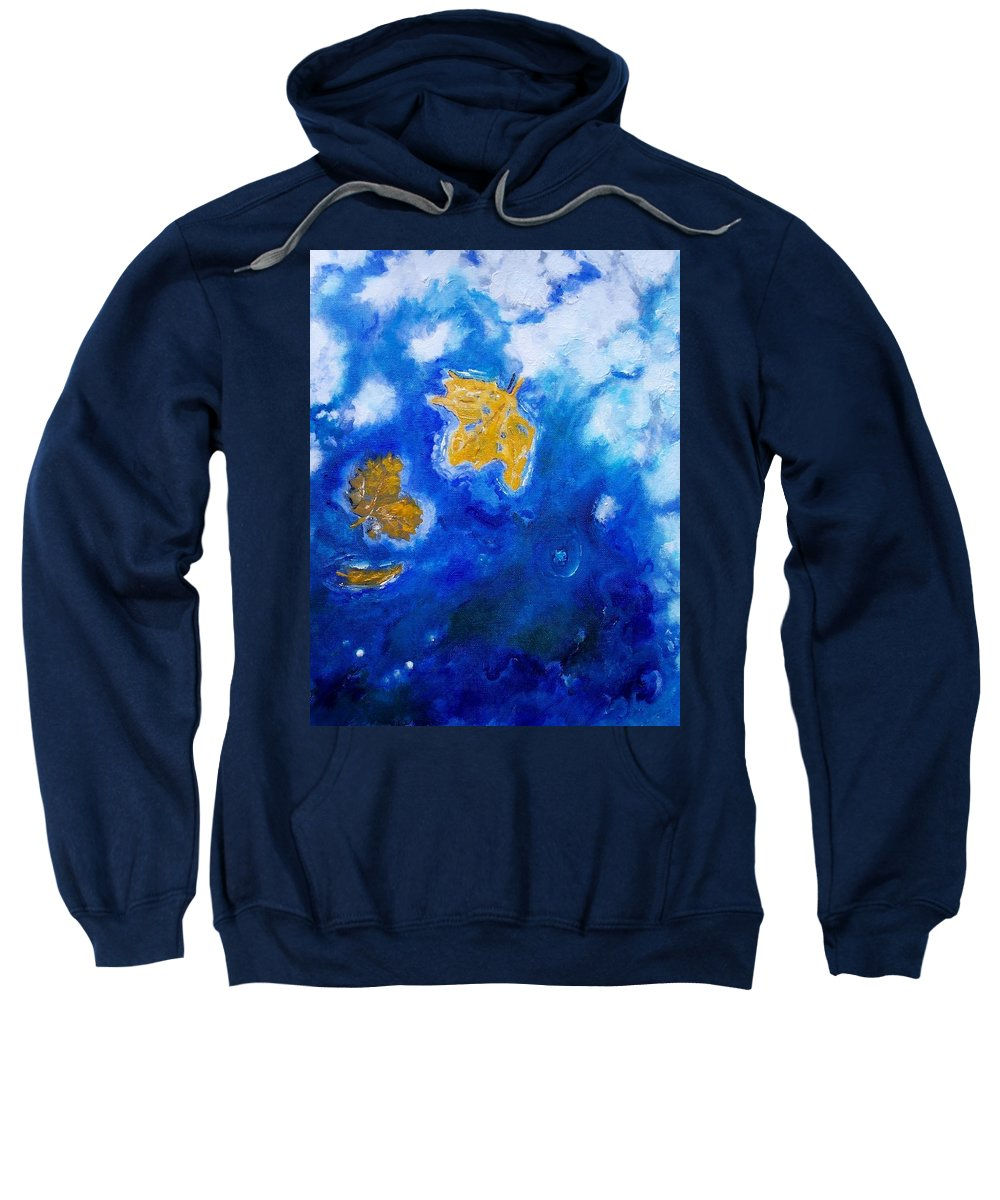 Landscape Sweatshirt featuring the painting Lazy Day by Robert Gross