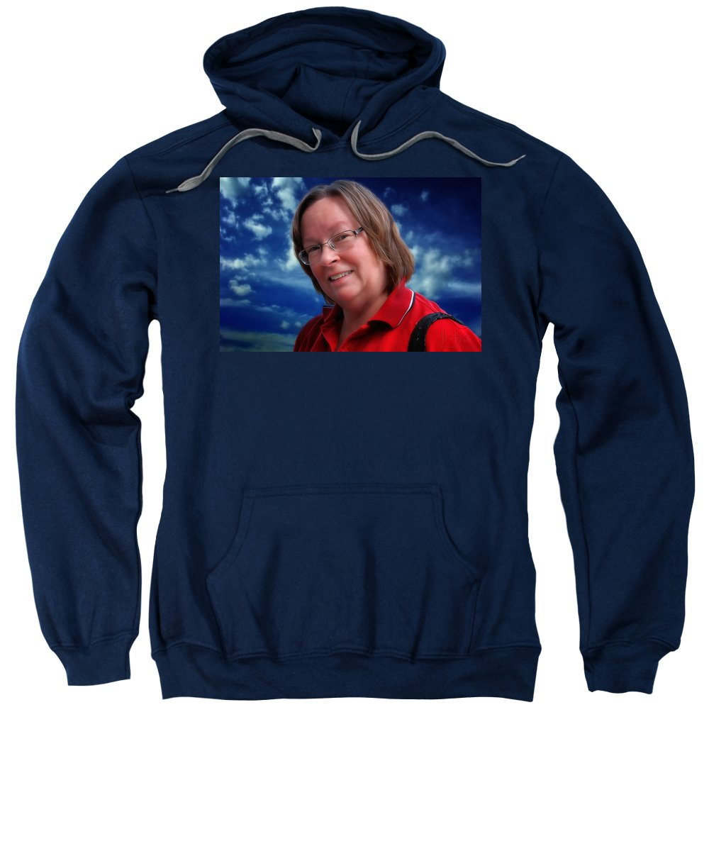 Napanee Sweatshirt featuring the photograph Lee by John Herzog