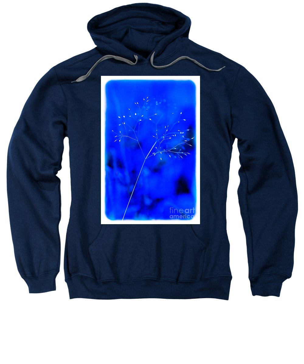 Weeds Sweatshirt featuring the mixed media Magical Weed by Kim Henderson