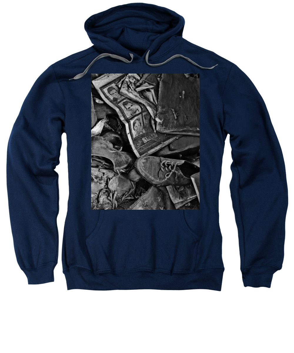 Street Photographer Framed Prints Sweatshirt featuring the photograph Memories Of Sin by The Artist Project