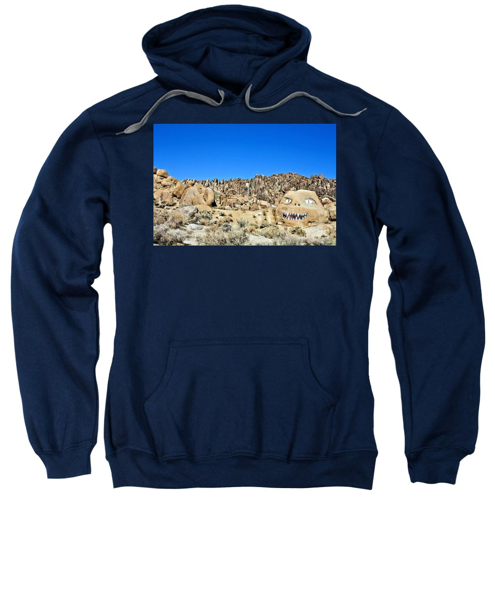 Mount Whitney Sweatshirt featuring the photograph Mount Whitney Gardian by Tommy Anderson