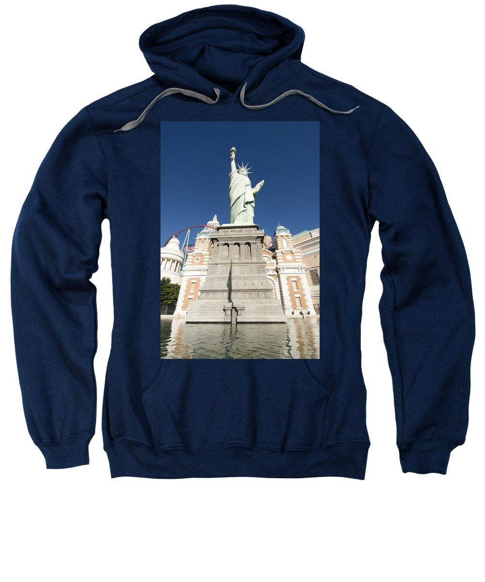 American Sweatshirt featuring the photograph New York Hotel by Gloria & Richard Maschmeyer