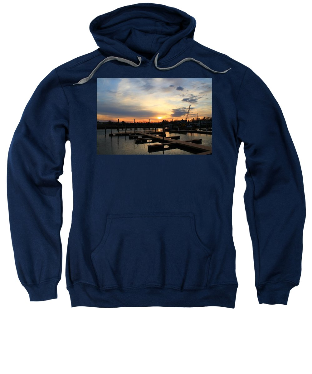 Guilford Sweatshirt featuring the photograph Quiet Time by Catie Canetti
