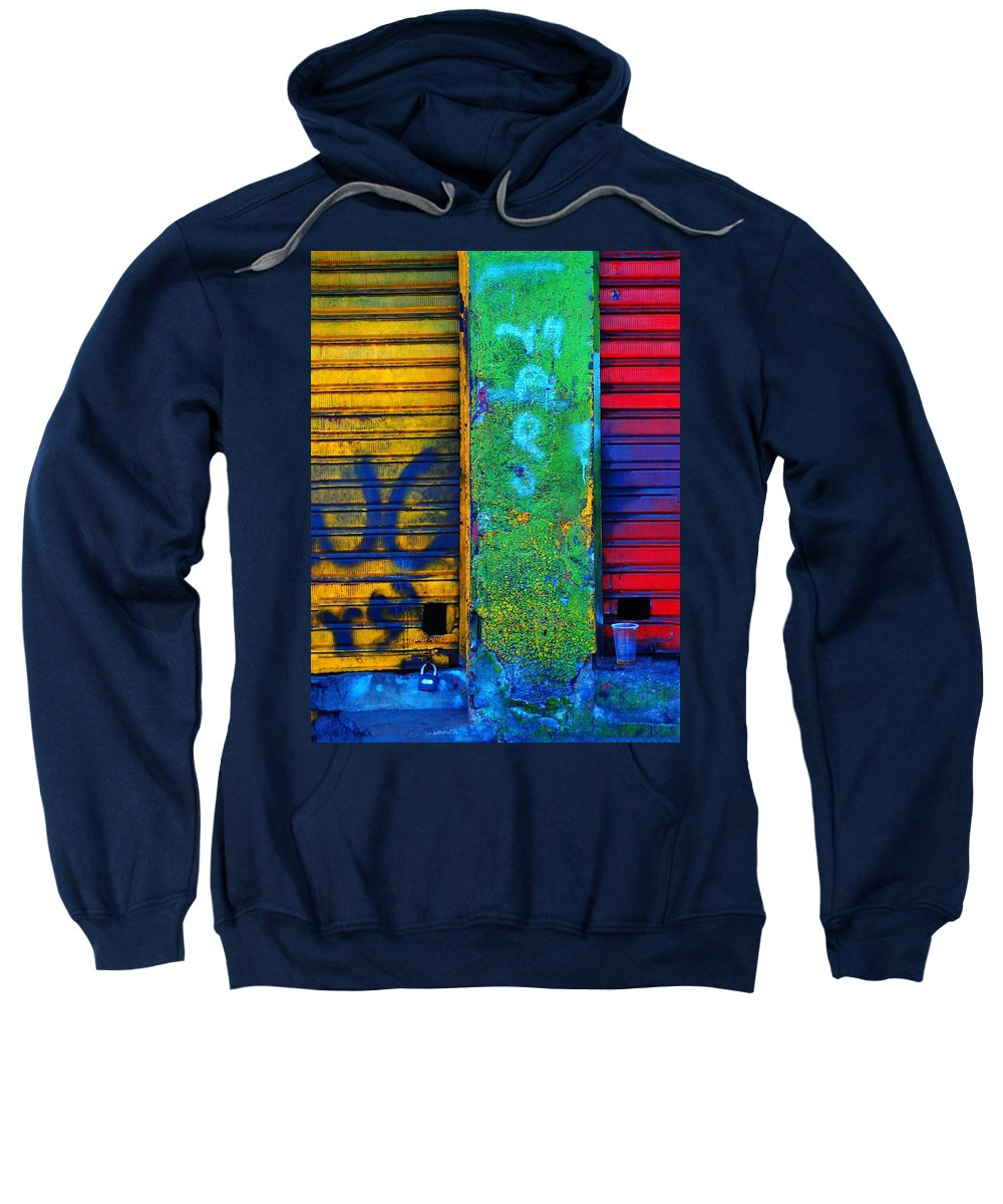 Spare A Spill Sweatshirt featuring the photograph Spare A Spill by Skip Hunt