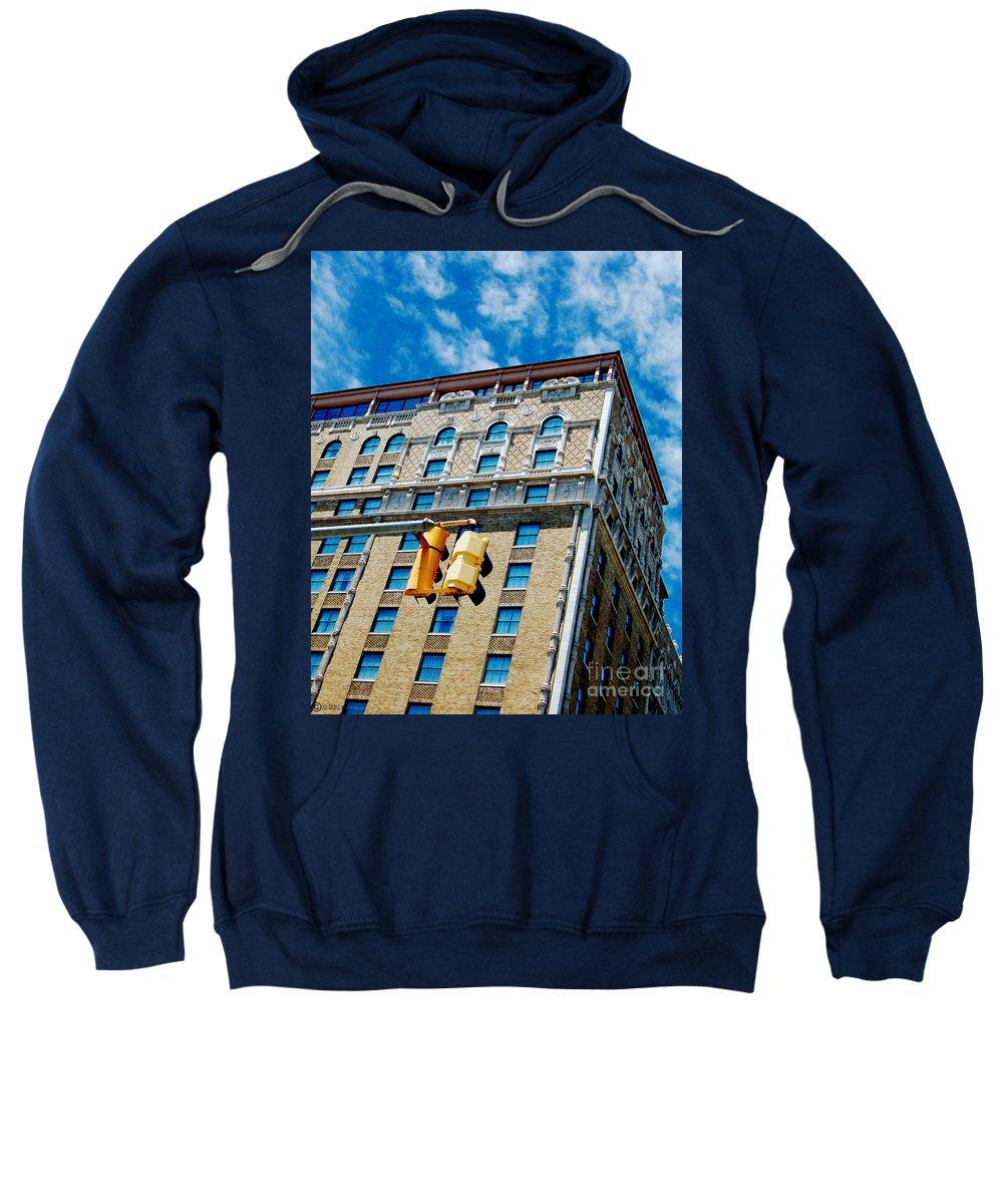 Peabody Hotel Sweatshirt featuring the photograph The Peabody by Lizi Beard-Ward