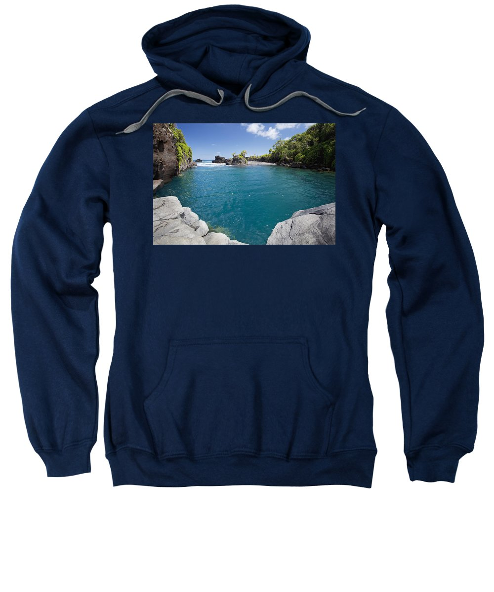 Big Sweatshirt featuring the photograph Venus Pool II by Jenna Szerlag