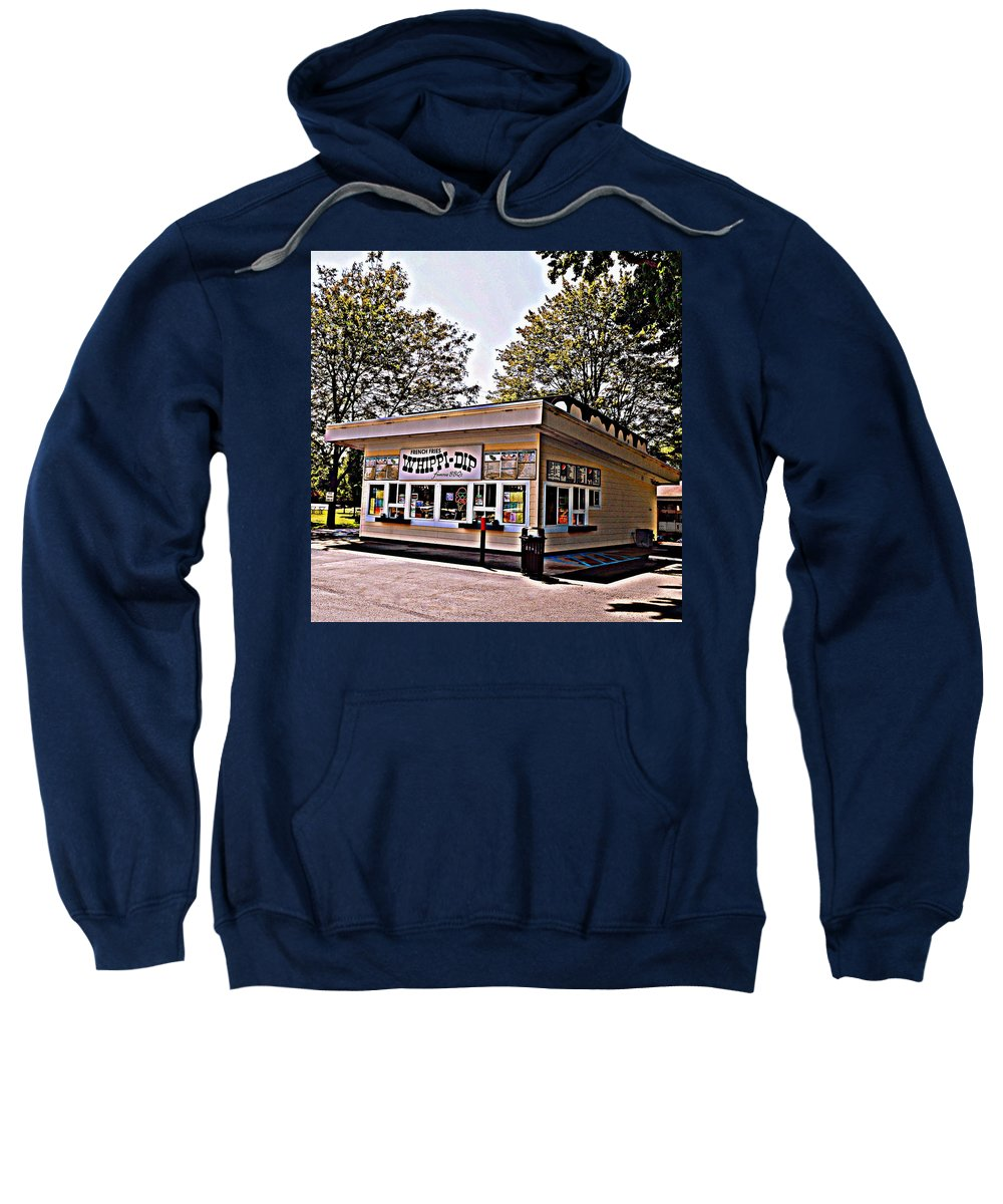 Ice Cream Sweatshirt featuring the photograph Whippi Dip by Michelle Calkins