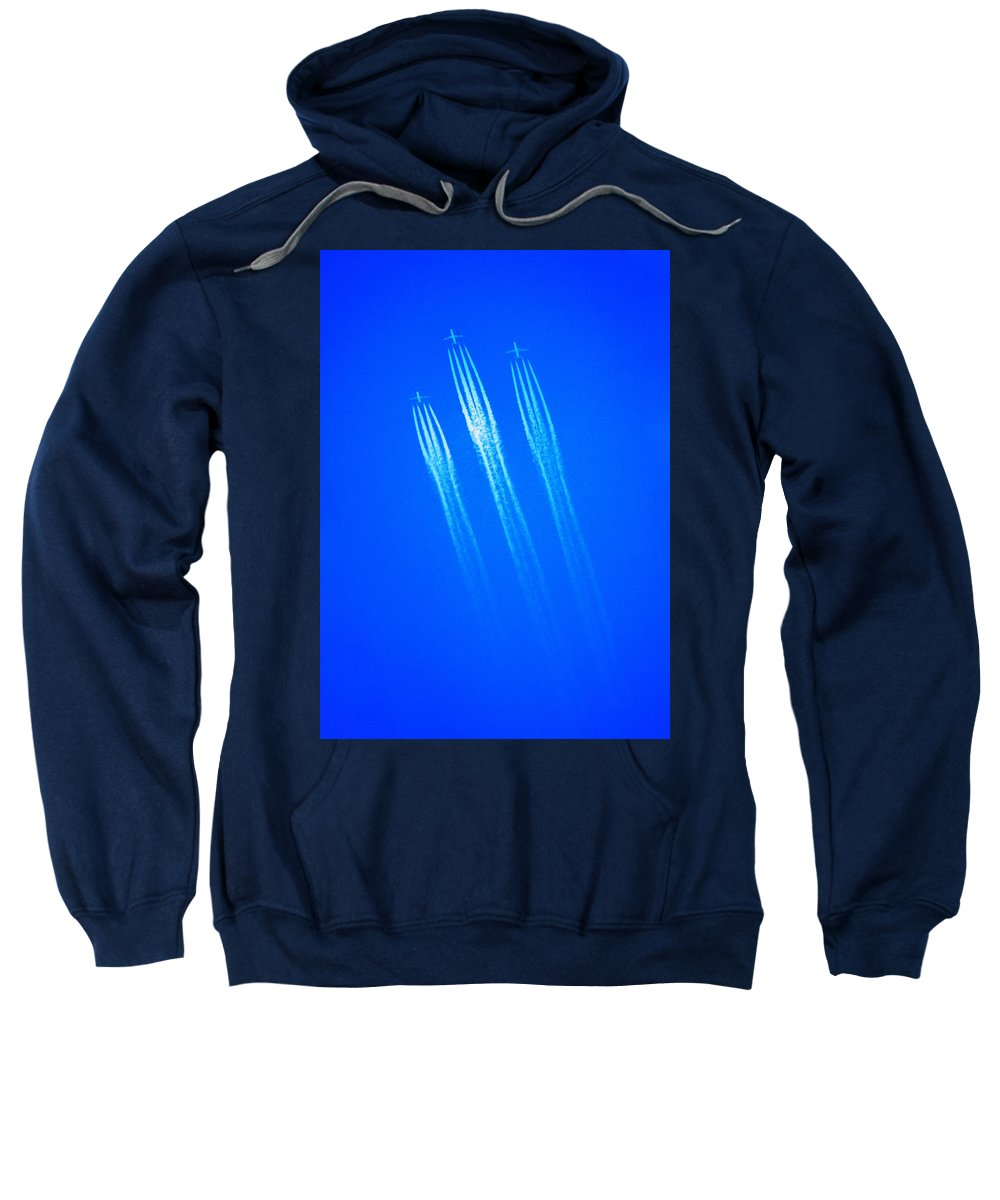 Wild Blue Yonder Sweatshirt featuring the photograph Wild Blue Yonder by Bill Cannon