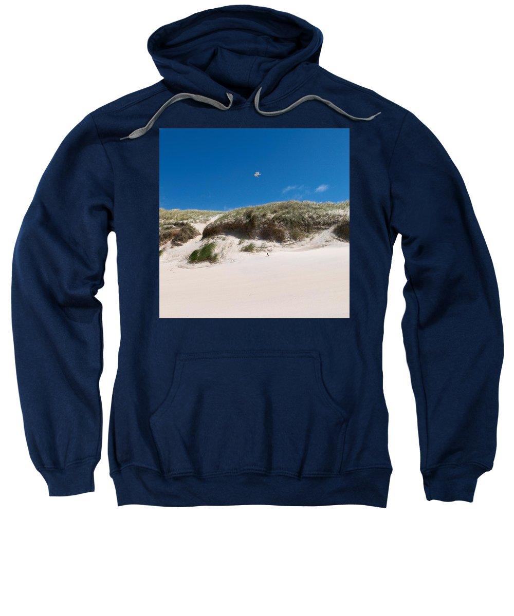 Lehtokukka Sweatshirt featuring the photograph Dunes Of Danmark 2 by Jouko Lehto