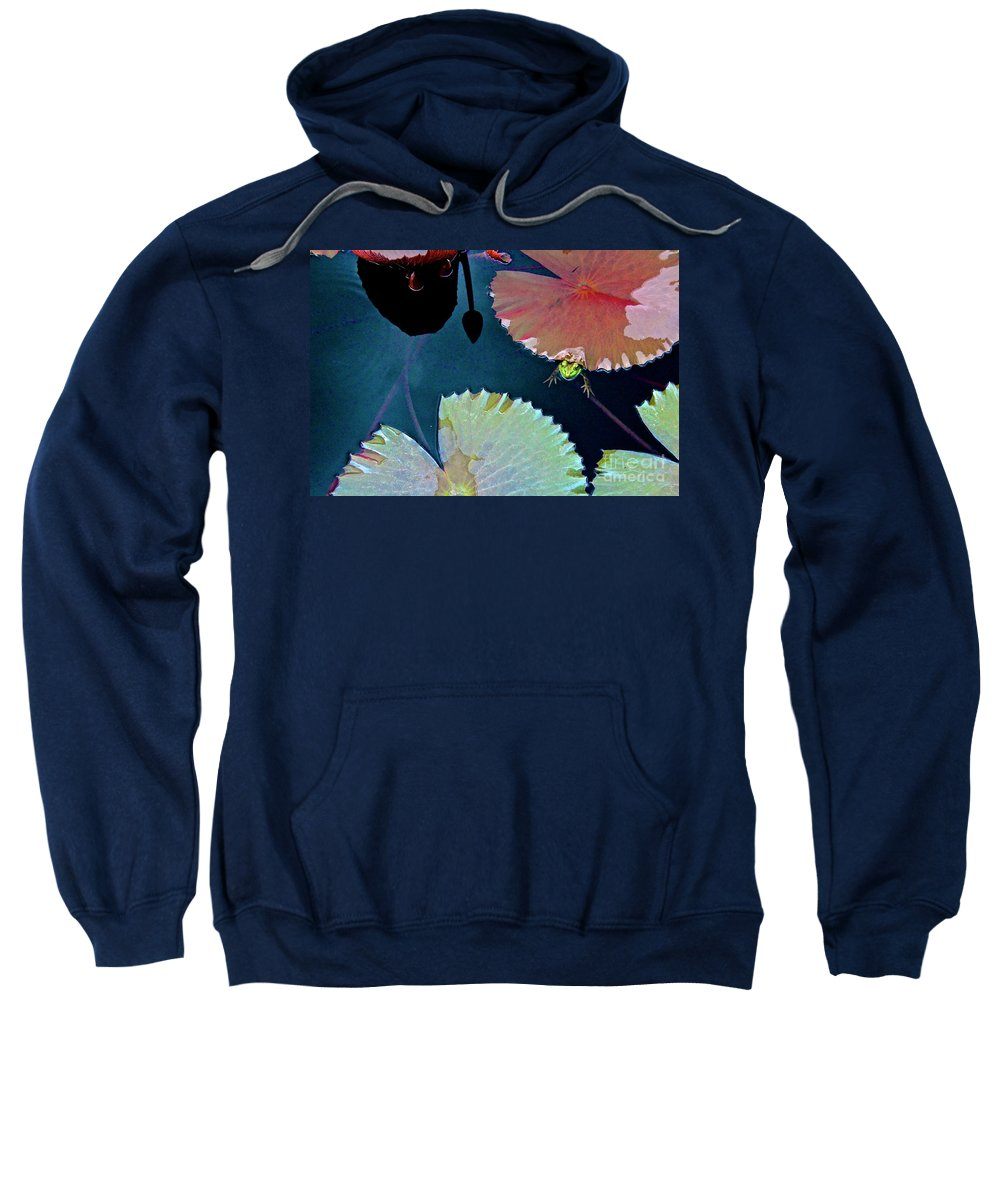 Canon T3i Eos Rebel Sweatshirt featuring the photograph 01142017102 by Debbie L Foreman