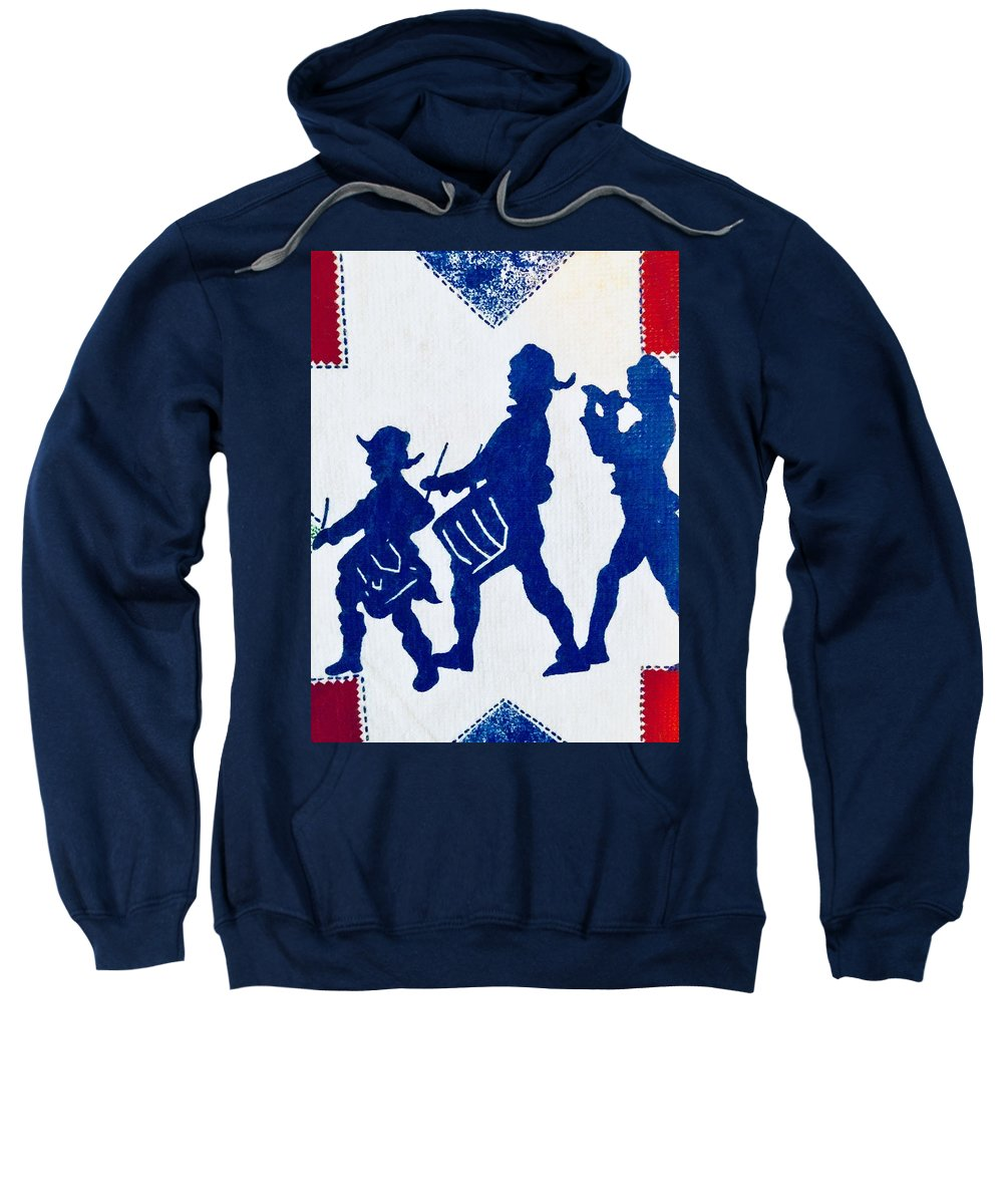 Sweatshirt featuring the photograph Call To Arms by Bruce Cohose