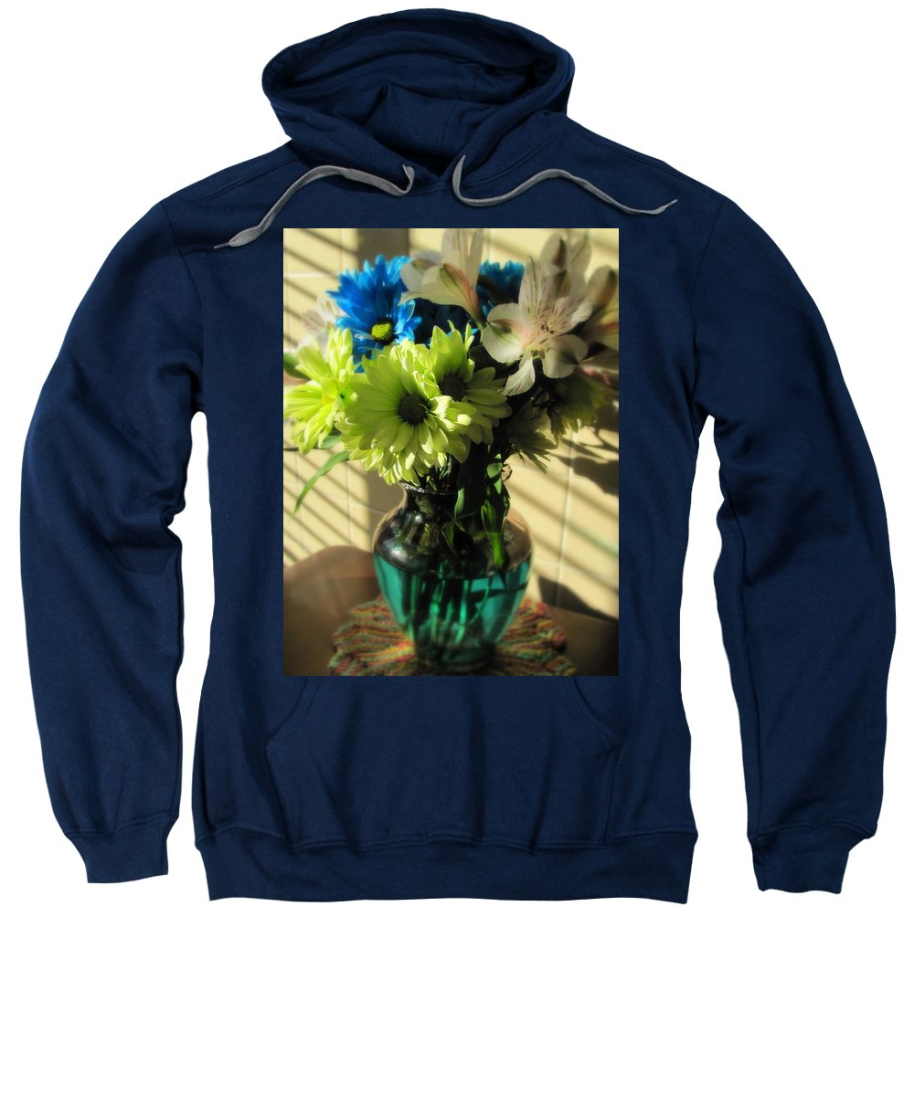 Flowers Sweatshirt featuring the photograph Floral Bouquet 2 by Anita Burgermeister
