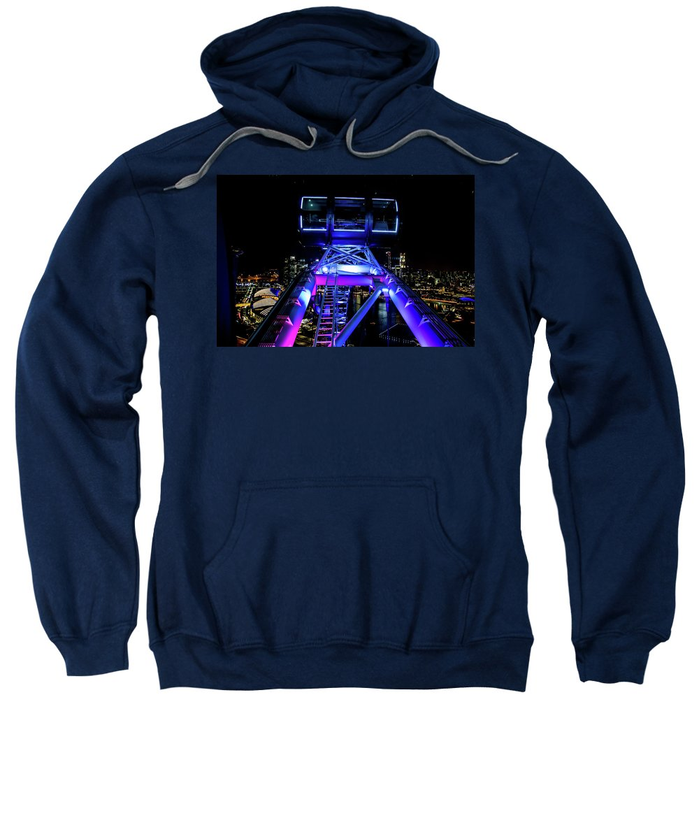 Flyer Sweatshirt featuring the photograph Flyer Pod by David Rolt