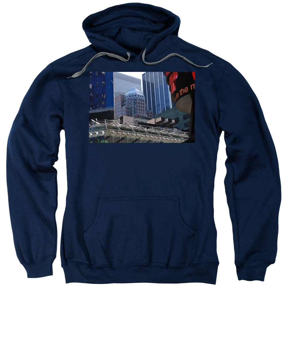 Architecture Sweatshirt featuring the photograph N Y C Architecture by Rob Hans