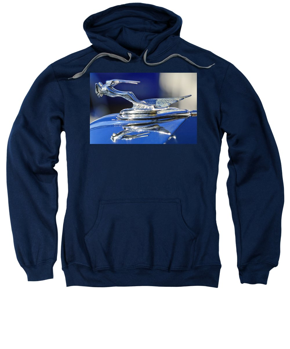 1931 Chrysler Imperial Cg Roadster Sweatshirt featuring the photograph 1931 Chrysler Imperial Cg Roadster by Jill Reger