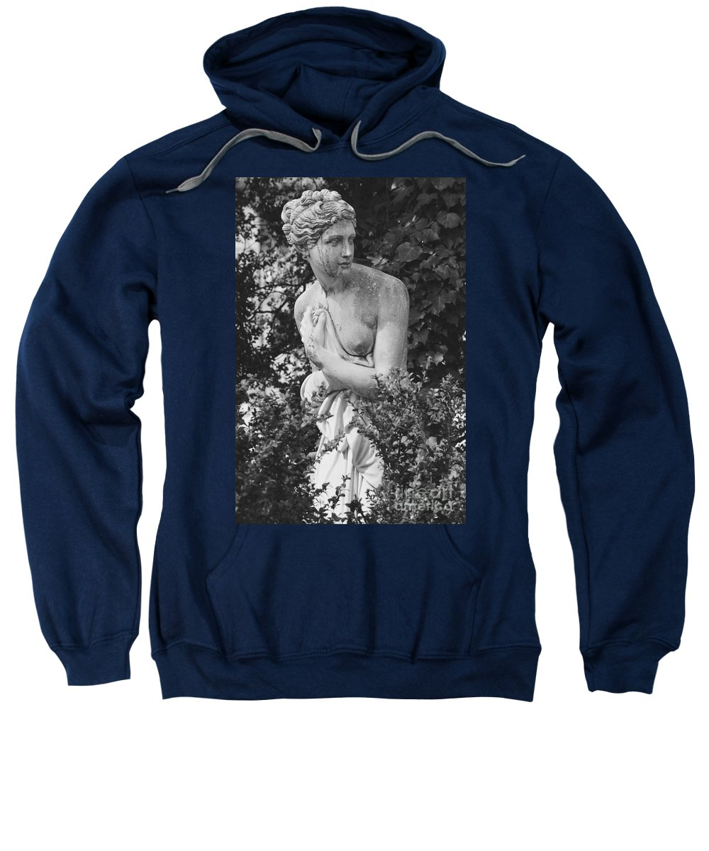 Statue Sweatshirt featuring the photograph Lady by Photos By Zulma