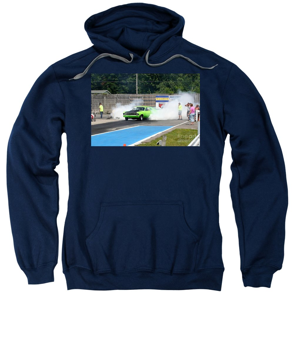 06-15-2015 Sweatshirt featuring the photograph 8838 06-15-2015 Esta Safety Park by Vicki Hopper