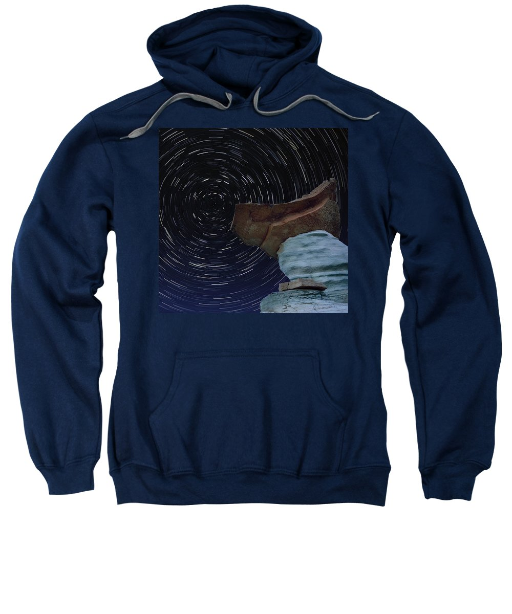 Rock Sweatshirt featuring the photograph Alien Communication by Ovidiu Moise