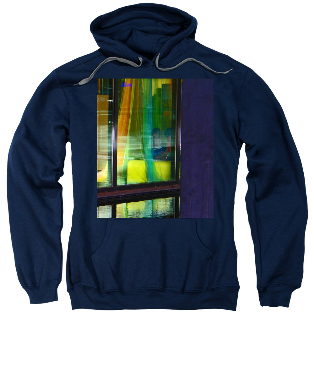 Abstract Sweatshirt featuring the photograph Alternate Reality 12 by Lenore Senior