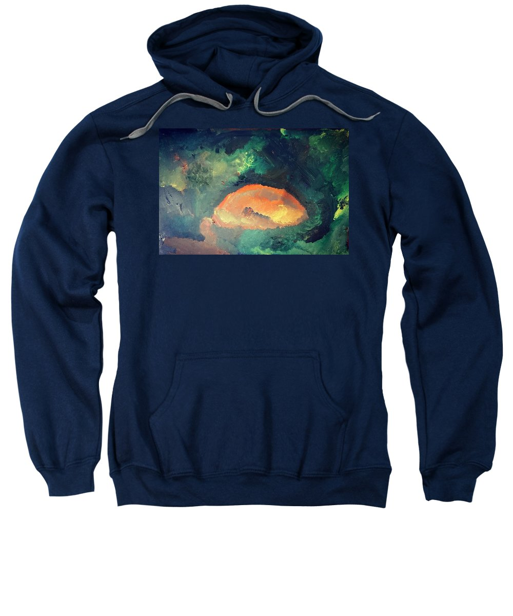 Oil Painting Sweatshirt featuring the painting Amsterdam Sunrise by Samuel Pye