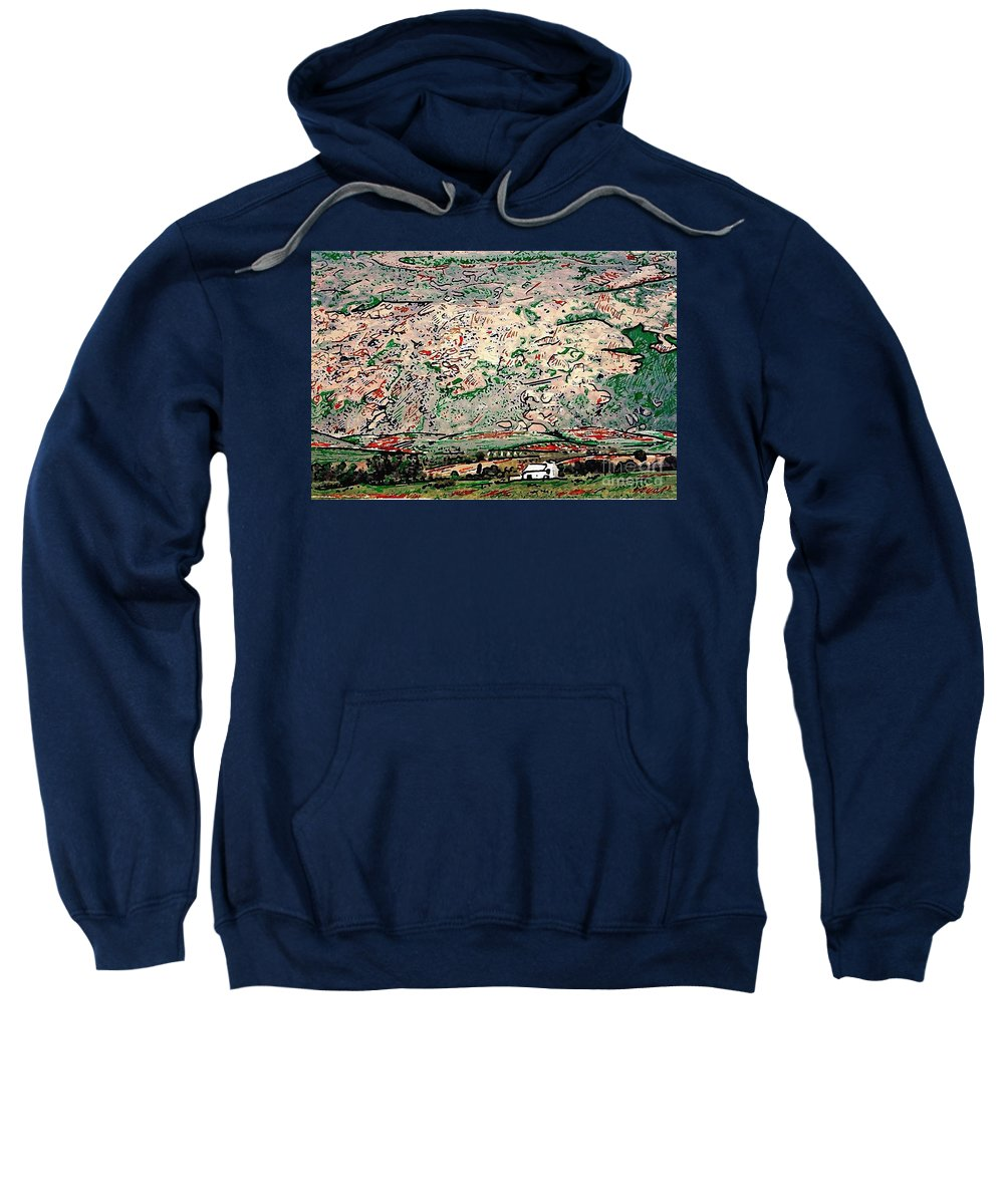 Landscape Sweatshirt featuring the photograph Andalusia by Sarah Loft