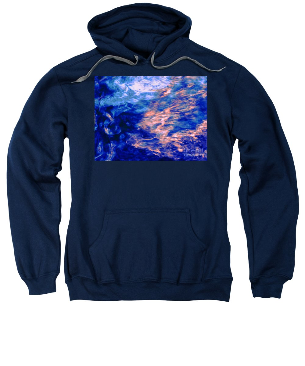 Abstract Sweatshirt featuring the photograph Answered Prayers by Sybil Staples