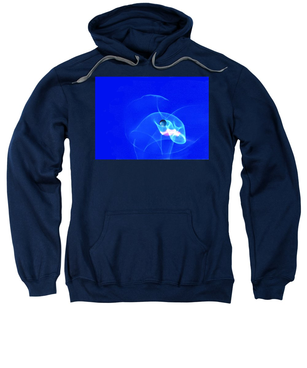 Abstract Sweatshirt featuring the photograph Apparition Pearl by Steve Karol