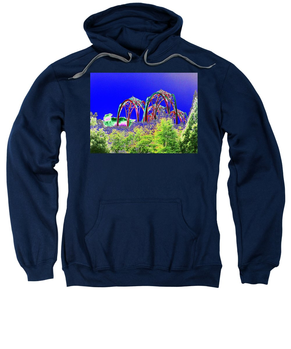 Seattle Sweatshirt featuring the photograph Arches 6 by Tim Allen