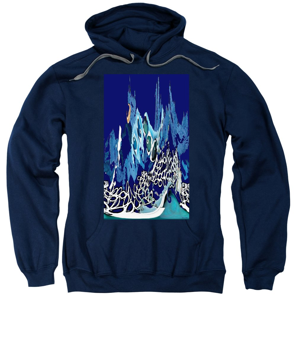 Arctic Sea Sweatshirt featuring the photograph Arctic Sea by Merja Waters