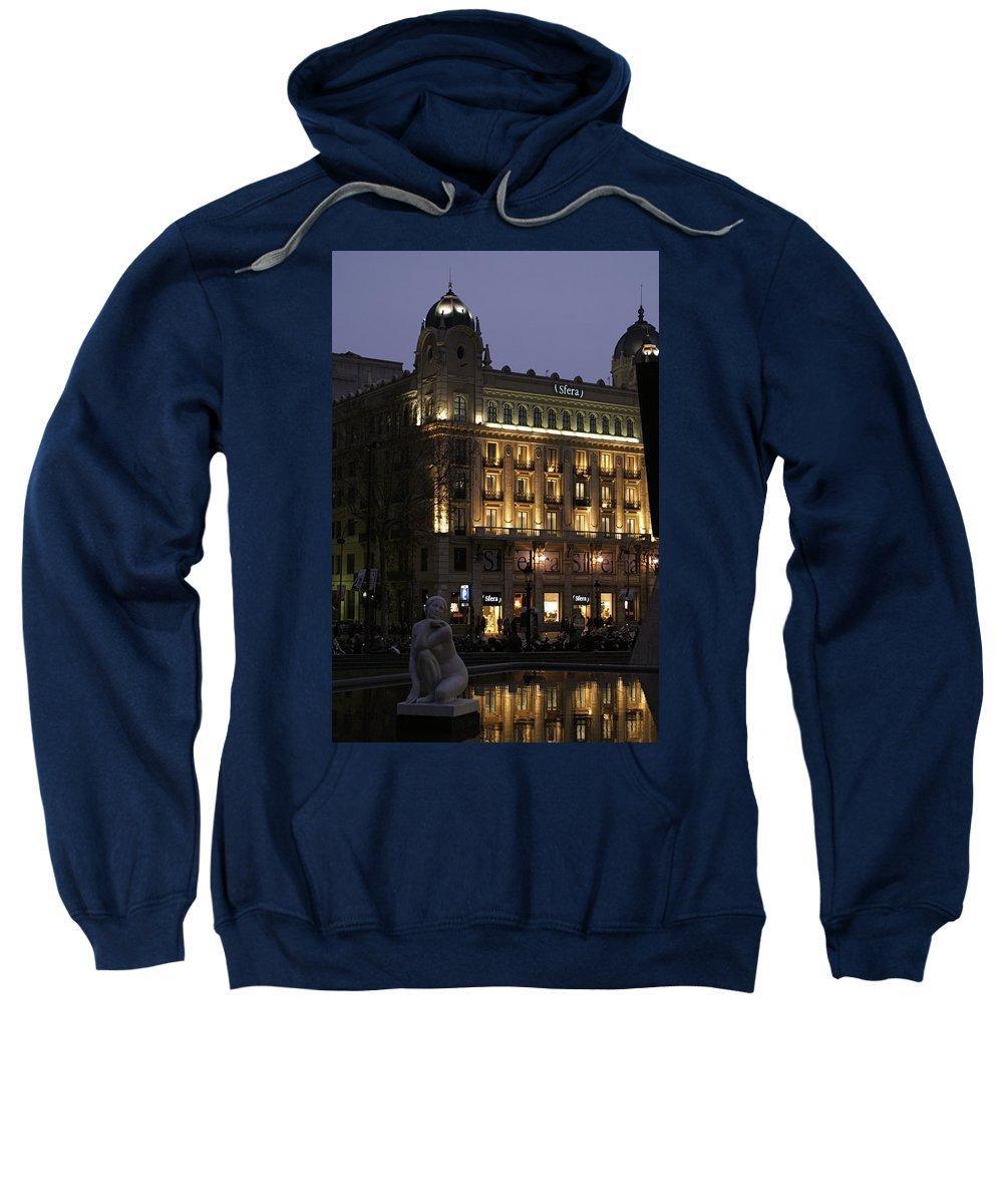 Barcelona Sweatshirt featuring the photograph Barcelona Spain by Henri Irizarri