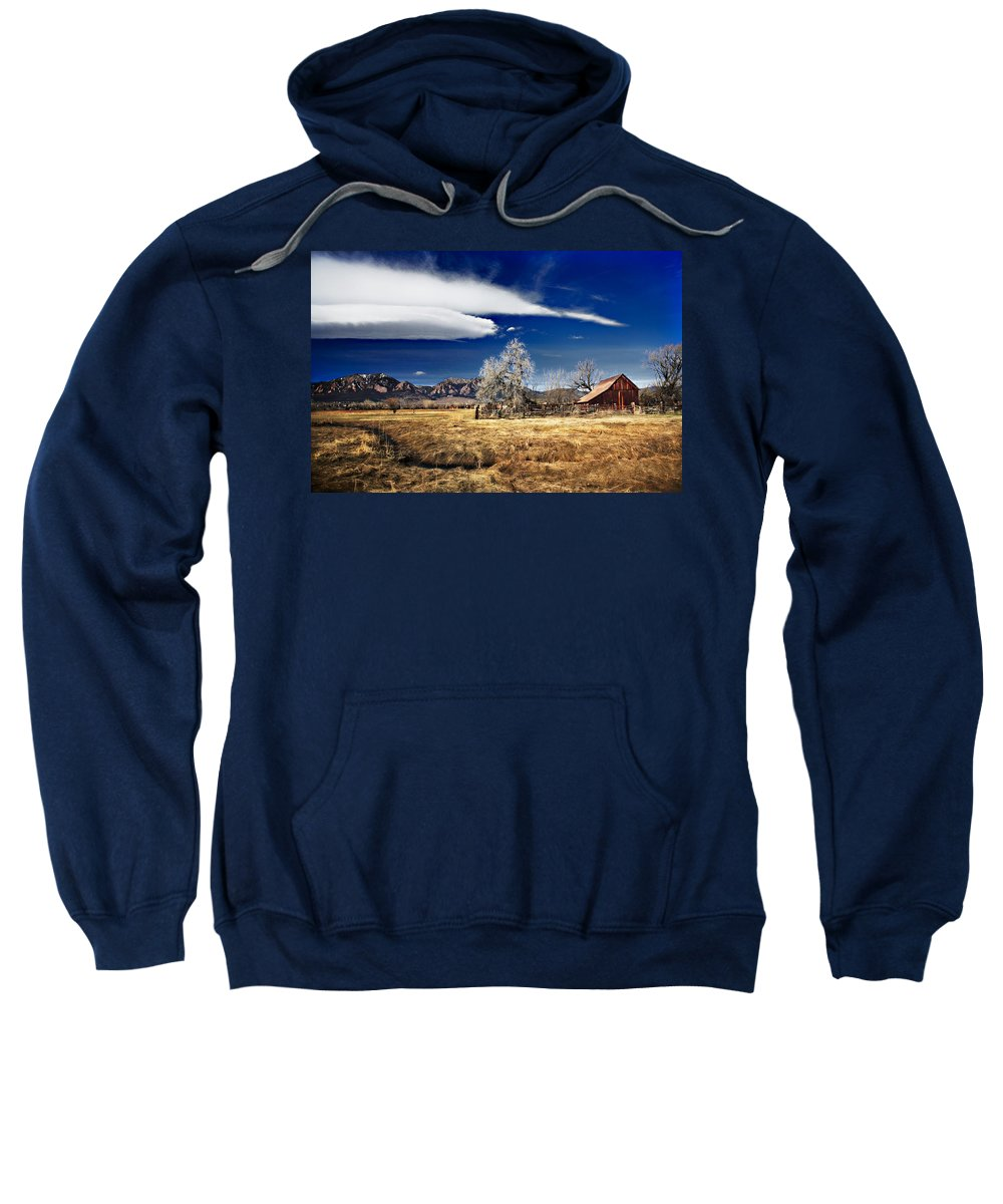 Colorado Sweatshirt featuring the photograph Beautiful Colorado by Marilyn Hunt
