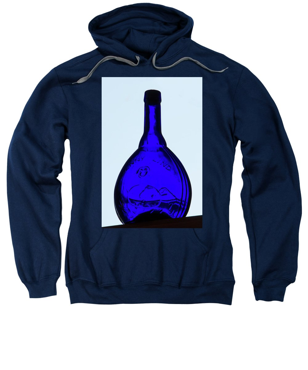 Glass Sweatshirt featuring the photograph Blue Ginny by Guy Shultz