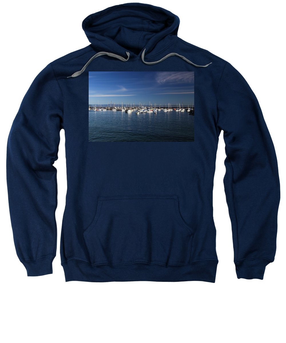 Boats Sweatshirt featuring the photograph Boats by Lisa Scammell