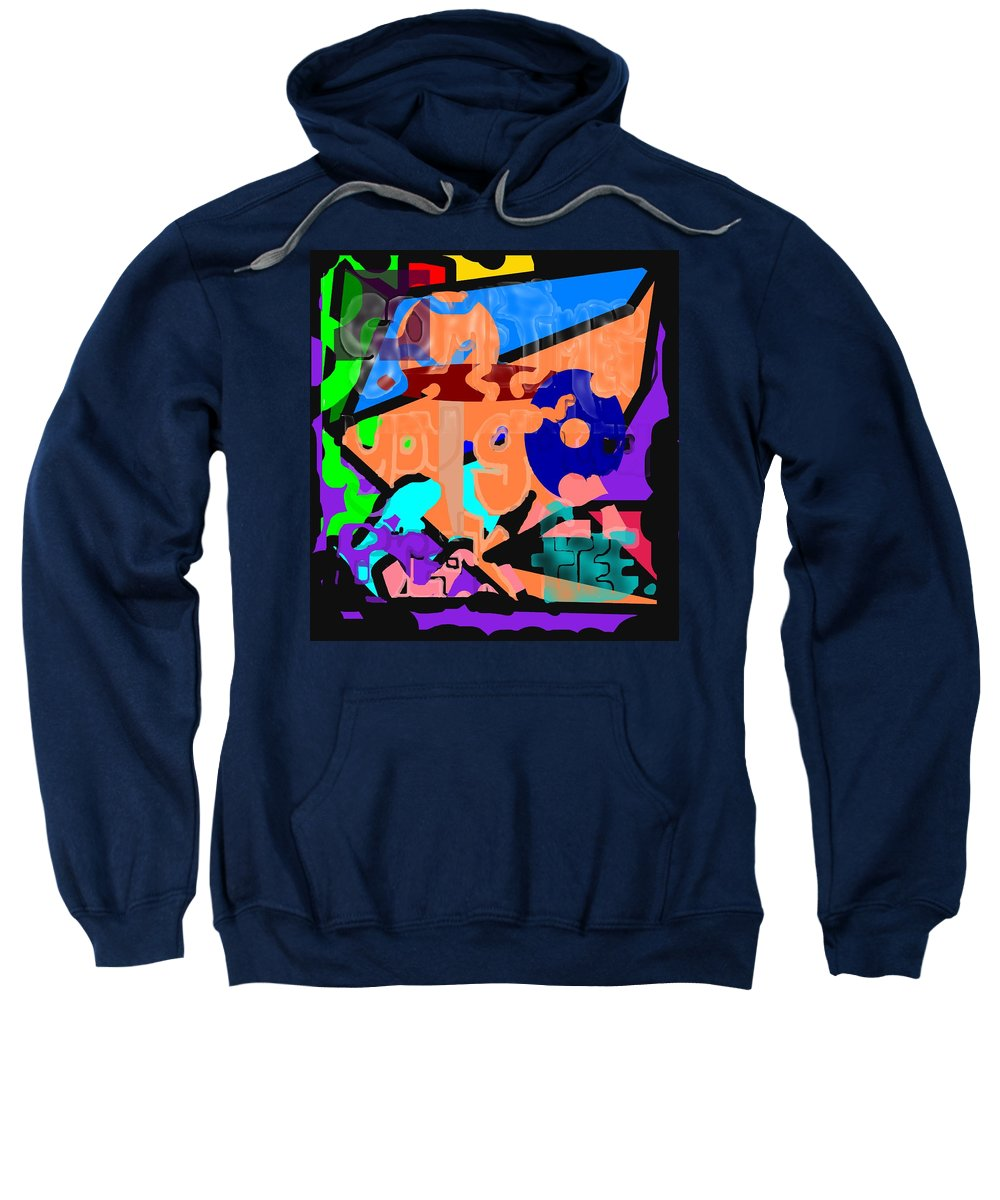 Free Sweatshirt featuring the digital art Break Free by Pharris Art