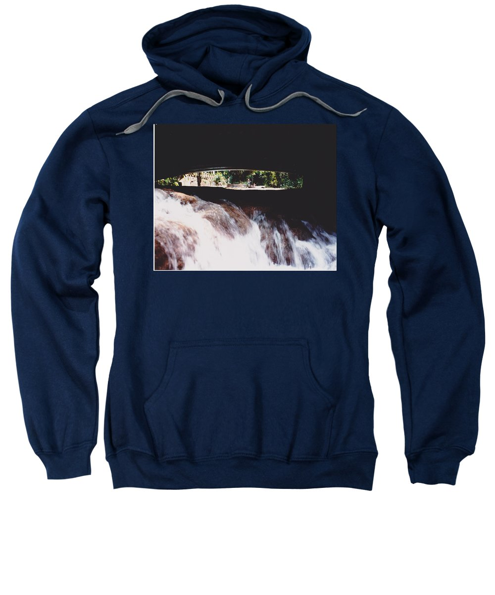 Water Sweatshirt featuring the photograph Bridge Over Water by Michelle Powell