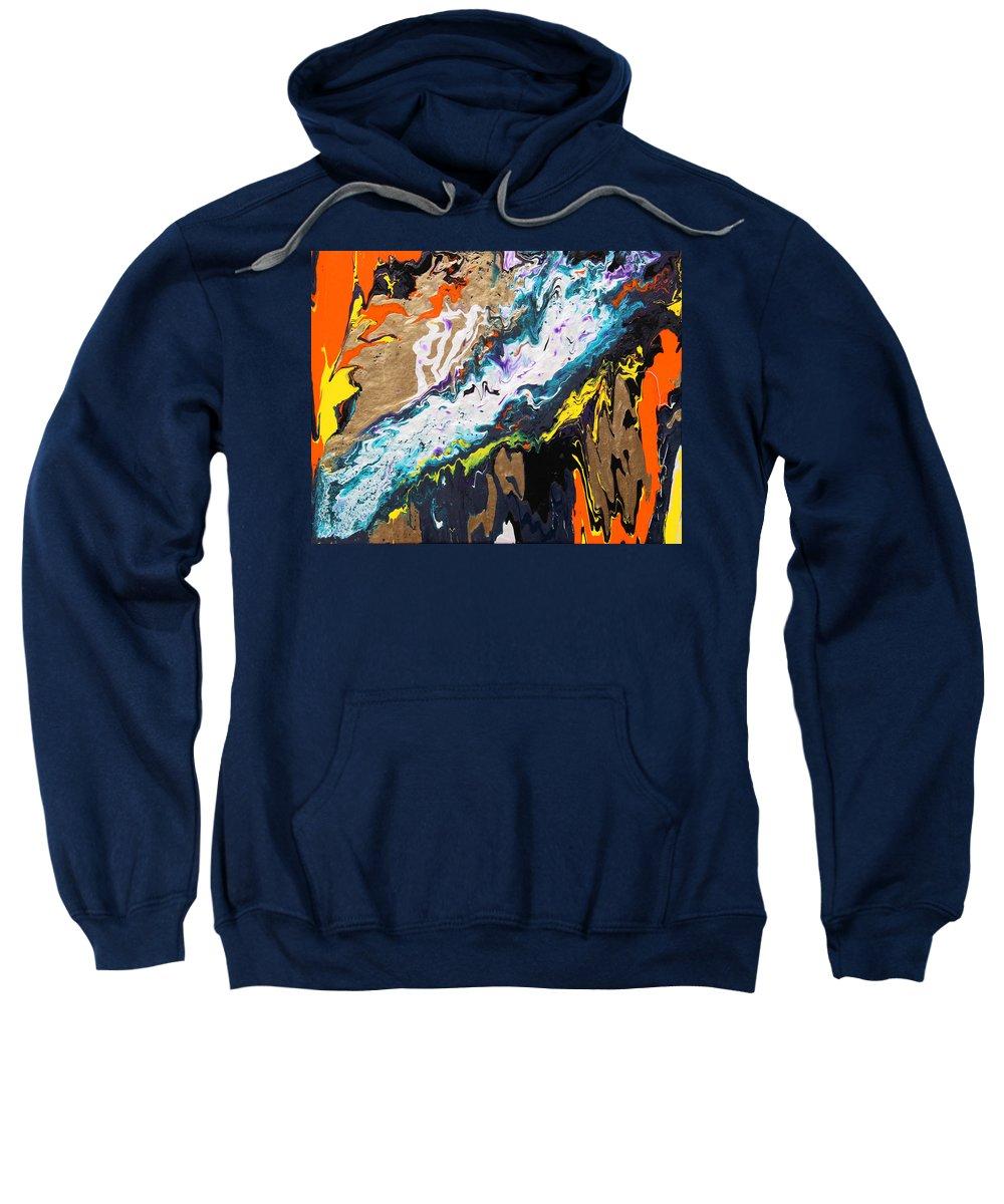 Fusionart Sweatshirt featuring the painting Bridge by Ralph White