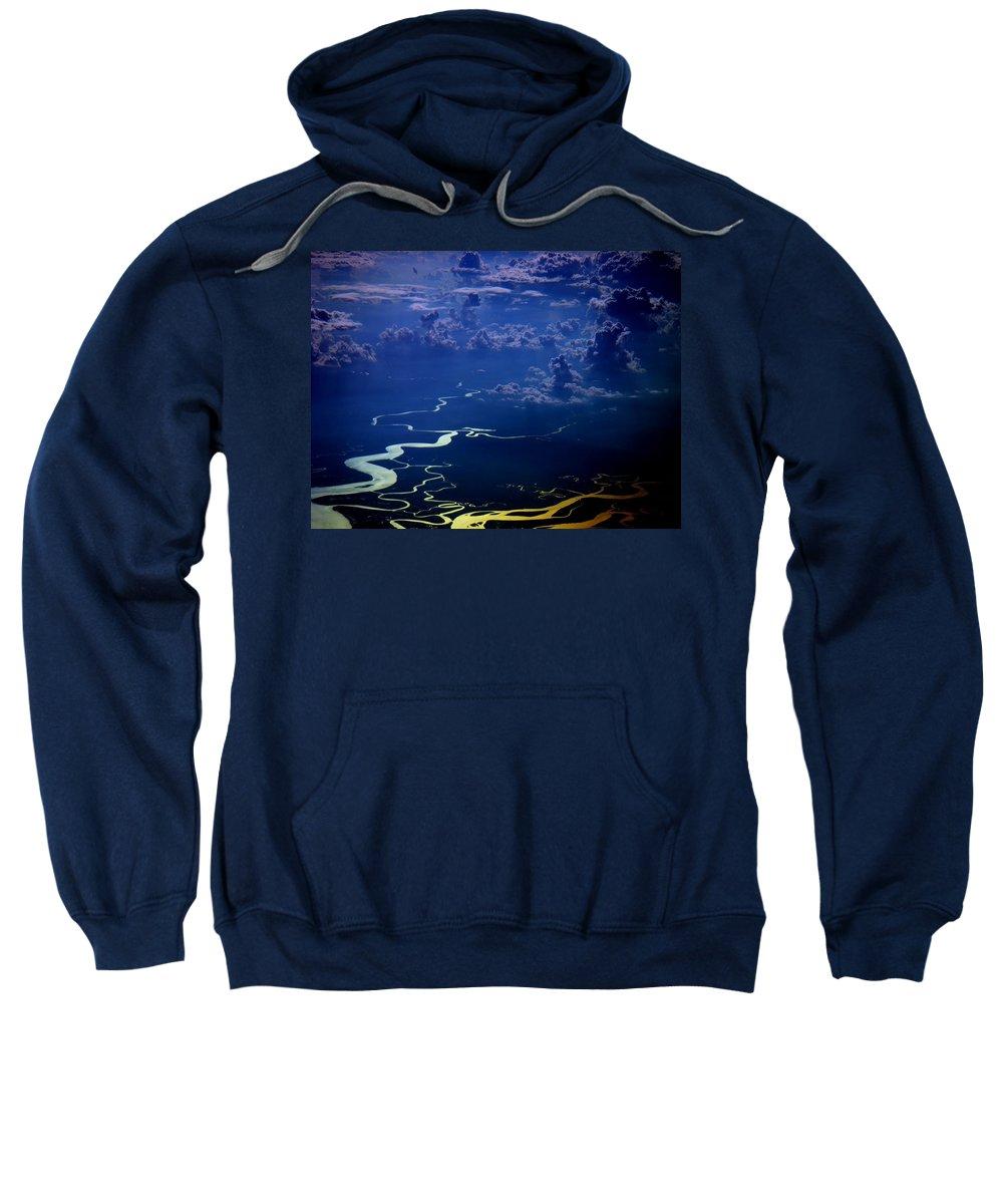 Aviation Art Sweatshirt featuring the photograph Cb3.91 by Strato ThreeSIXTYFive